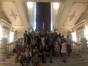 Elevi și profesori din Căușeni, în vizită în Țara Mamă