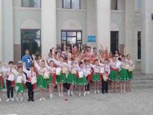 Examen la coreografie la Școala de Arte Căușeni