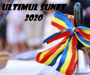 Sfârșitul anului de studii 2019-2020