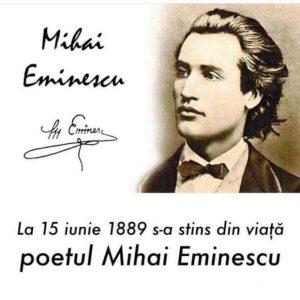 131 de ani de la moartea lui Mihai Eminescu